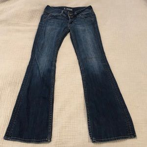 Hudson low-rise flare jeans!